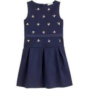 Crewcuts navy ponte dress